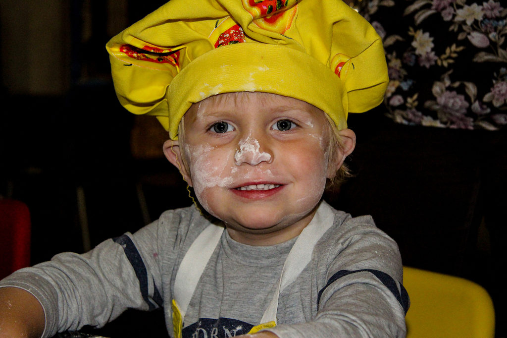 Cayleb Pizza Chef Kids Party