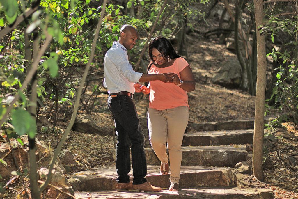 Glory Stepping down Pretoria Botanical Gardens