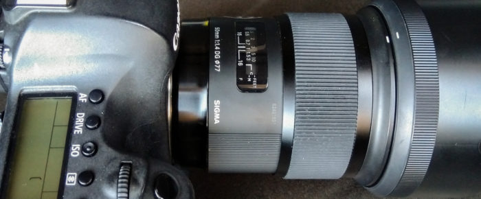 Sigma 50mm f1/4 DG HSM ART series Lens