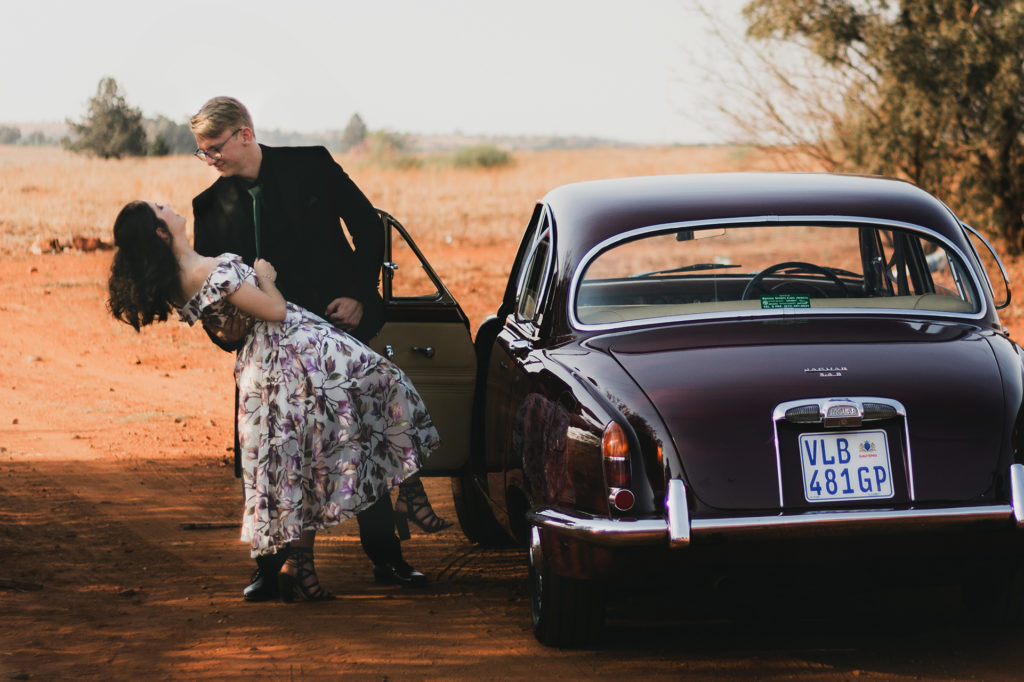 Tiaan Jaguar Vintage Matric Farewell