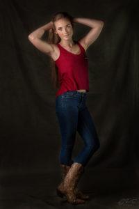 Indoor Model Portrait Photoshoot